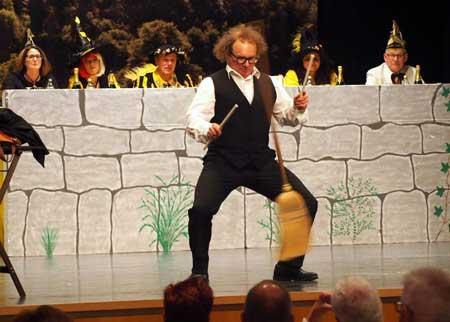 schwäbischer Kabarettist in Leonberg