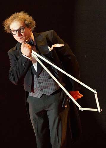schwäbischer Kabarettist in Heidelberg