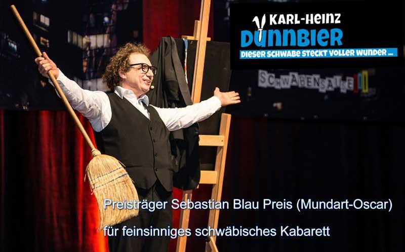 Zauberer, Bauchredner und schwäbischer Kabarettist in Geislingen