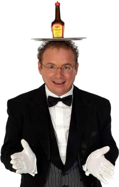 Schwäbischer Kabarettist, Bauchredner, Zauberer in Reutlingen