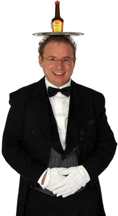 Schwäbischer Kabarettist Bauchredner Zauberer in Sigmaringen